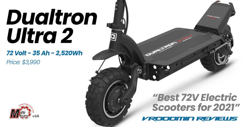 Best 72V Electric Scooter Dualtron Ultra