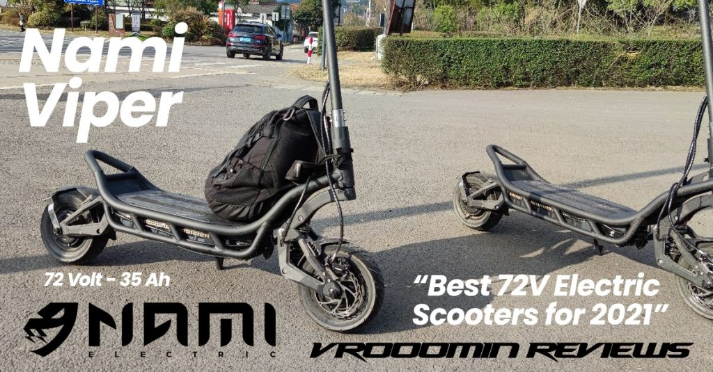 Best 72V Electric Scooter Nami Viper