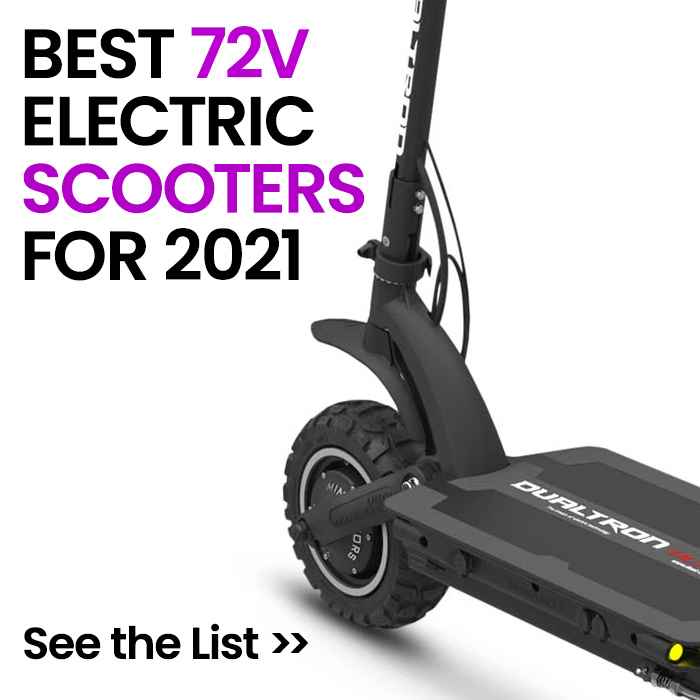 Best 72V Electric Scooters 2021