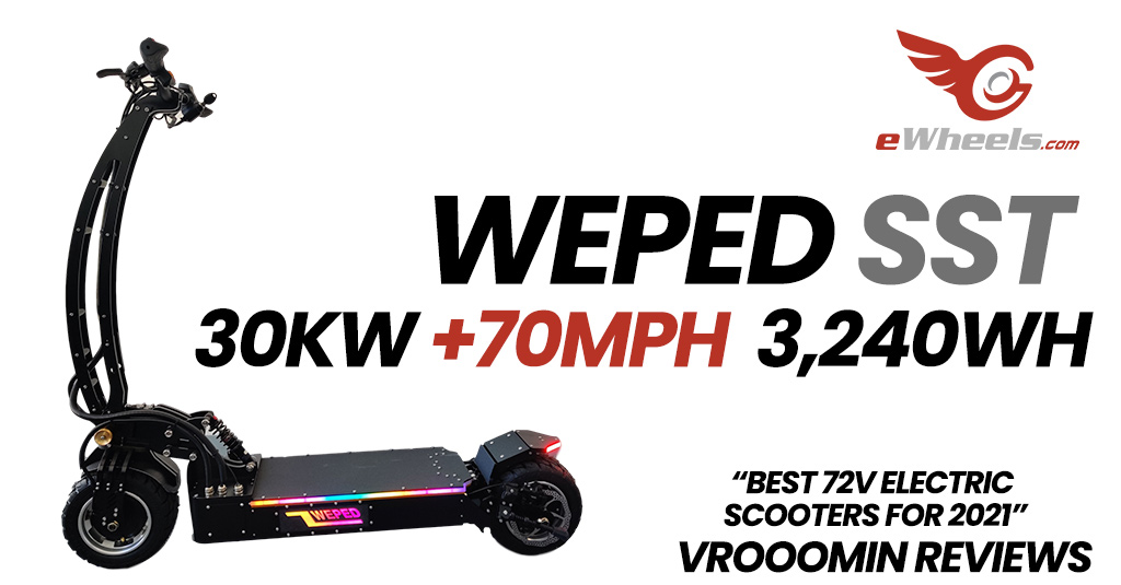 Weped SST Electric Scooter