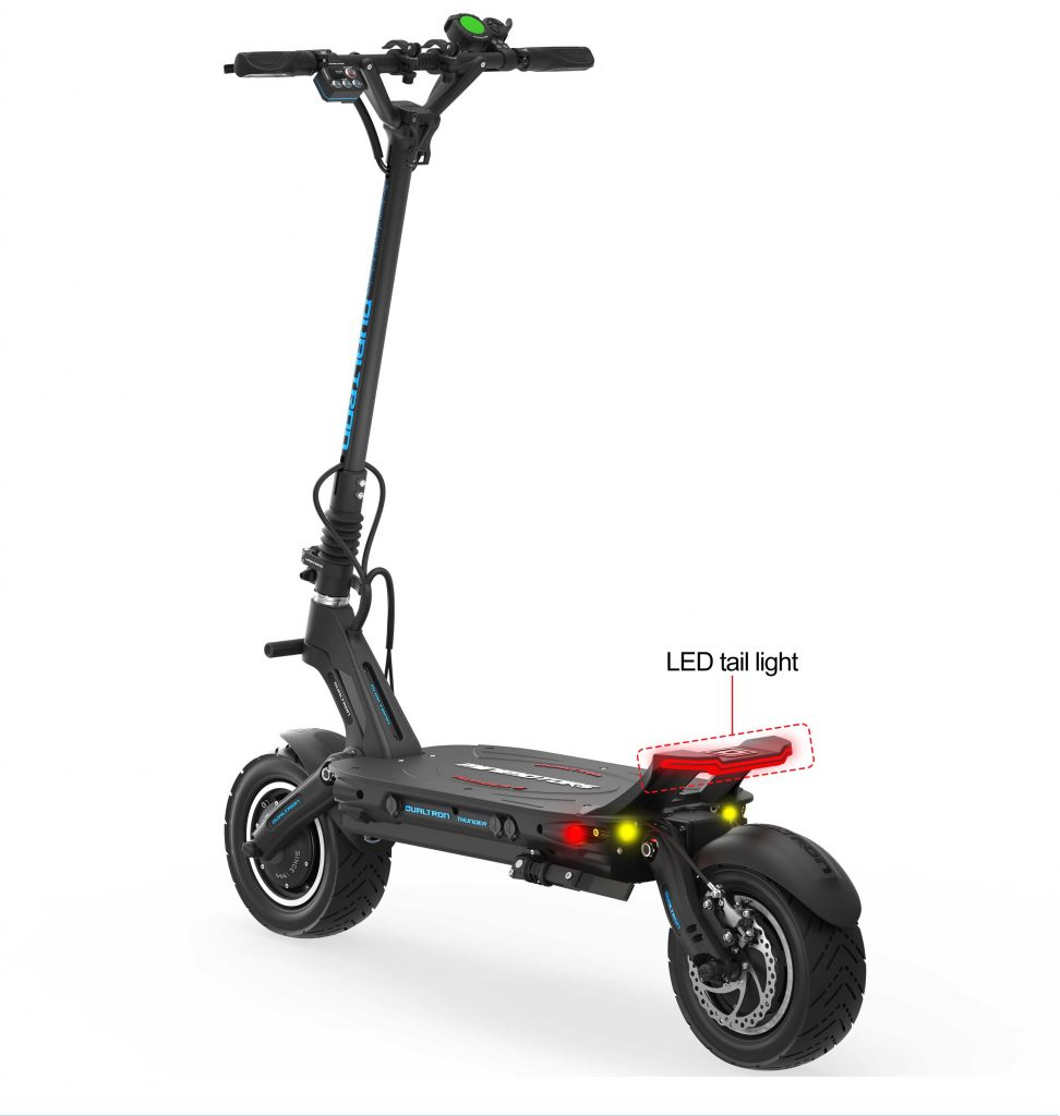 Dualtron Thunder 2 Electric Scooter Rear View