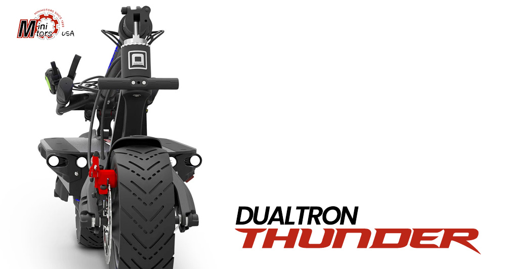 Dualtron Thunder Chassis Front View