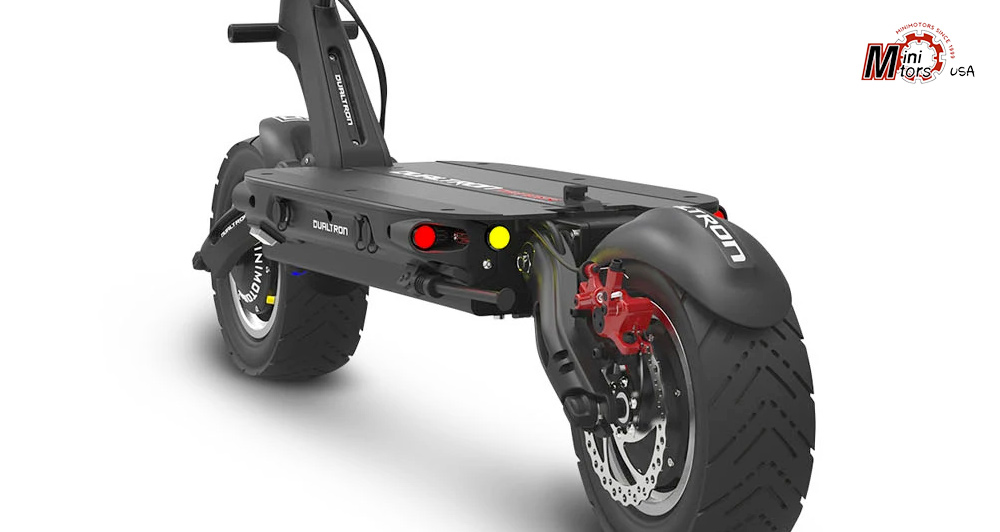 Dualtron Thunder Chassis Rear View