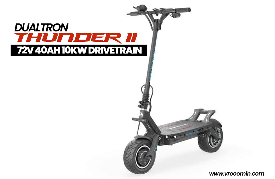 Dualtron Thunder 2 Front View