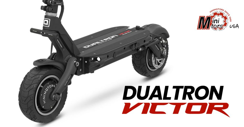 Dualtron Victor Electric Scooter - front view