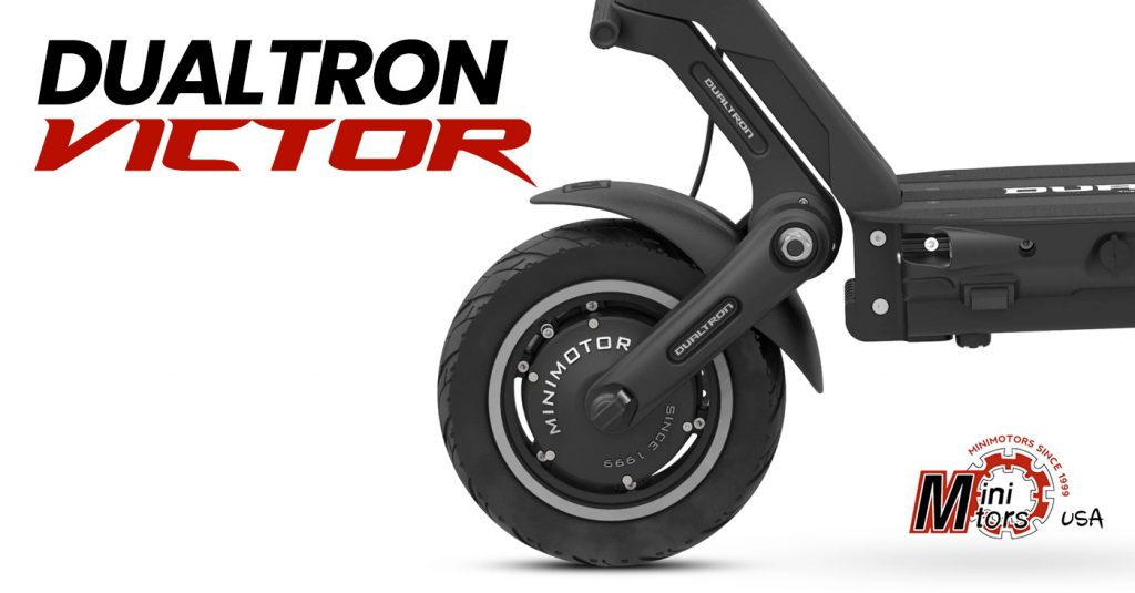 Dualtron Victor Electric Scooter - motor view