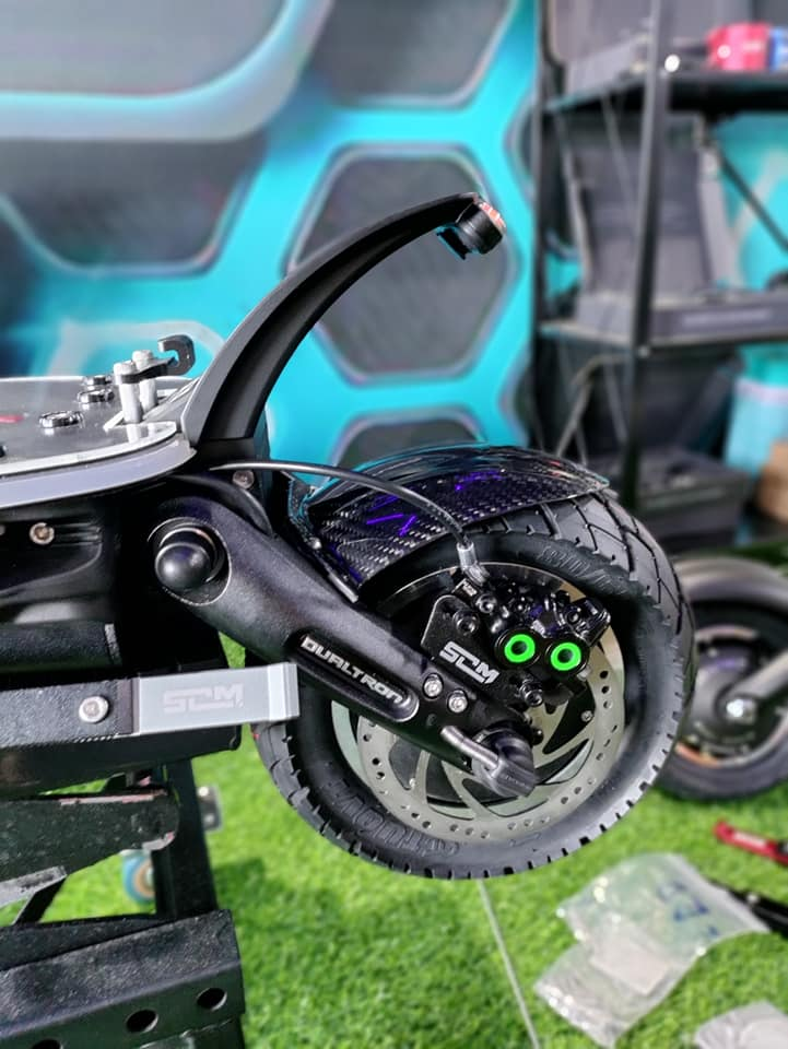 Magura Break Mount - Dualtron Victor Electric Scooter Modded by Scooter Mania