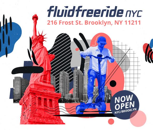 Fluidfreeride New NYC Shop Opening