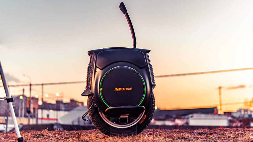 Inmotion V12 Electric Unicycle Handles