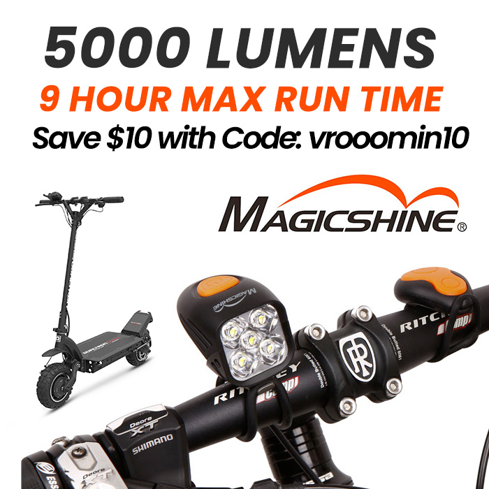 Save $10 off Magicshine Lights