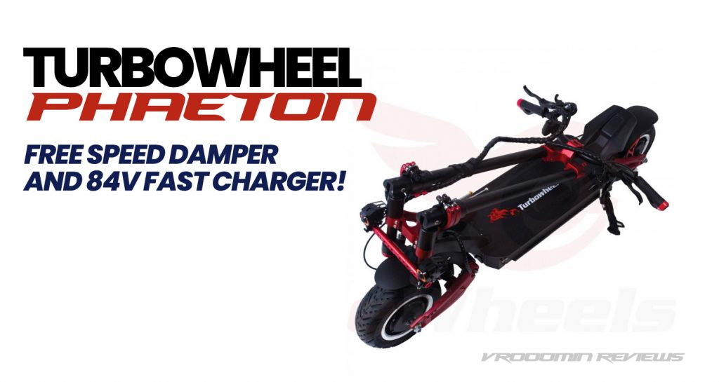 Turbowheel Electric Scooters Top View