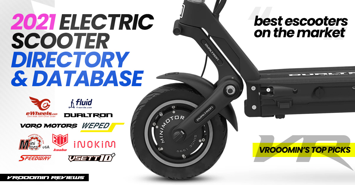 Electric Scooter Directory and Database