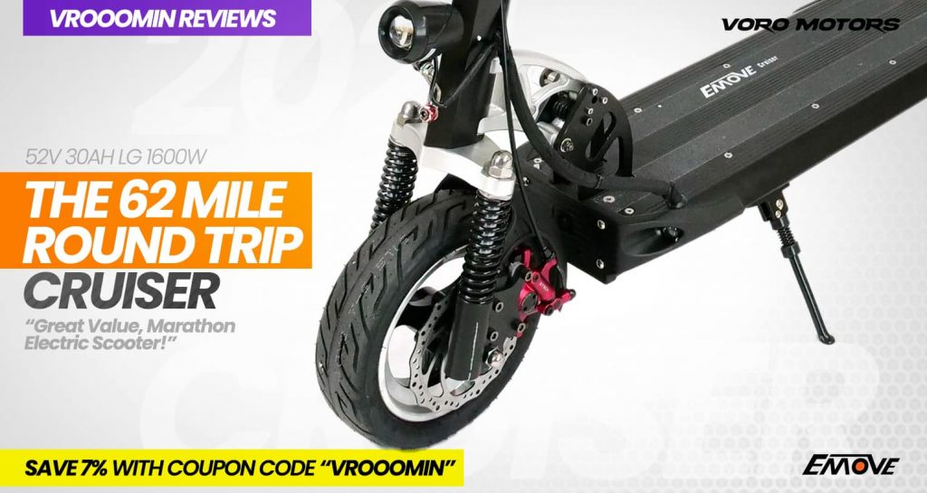 EMOVE Cruiser Electric Scooter Front Motor