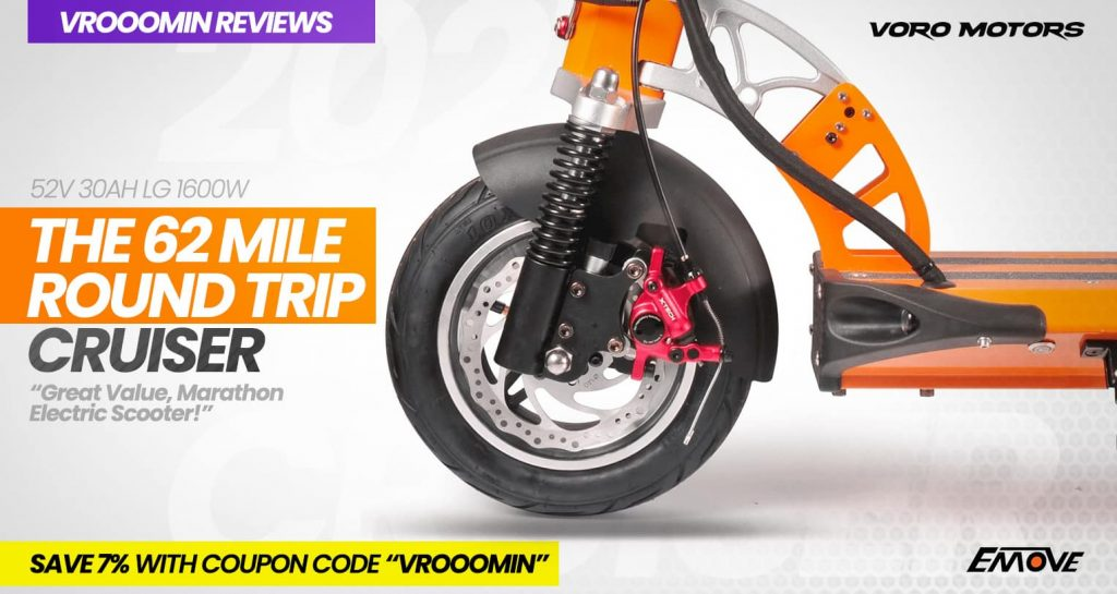 EMOVE Cruiser Electric Scooter Suspension