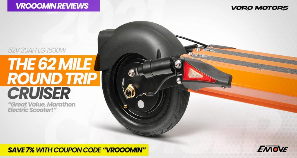EMOVE Cruiser Electric Scooter Rear Motor