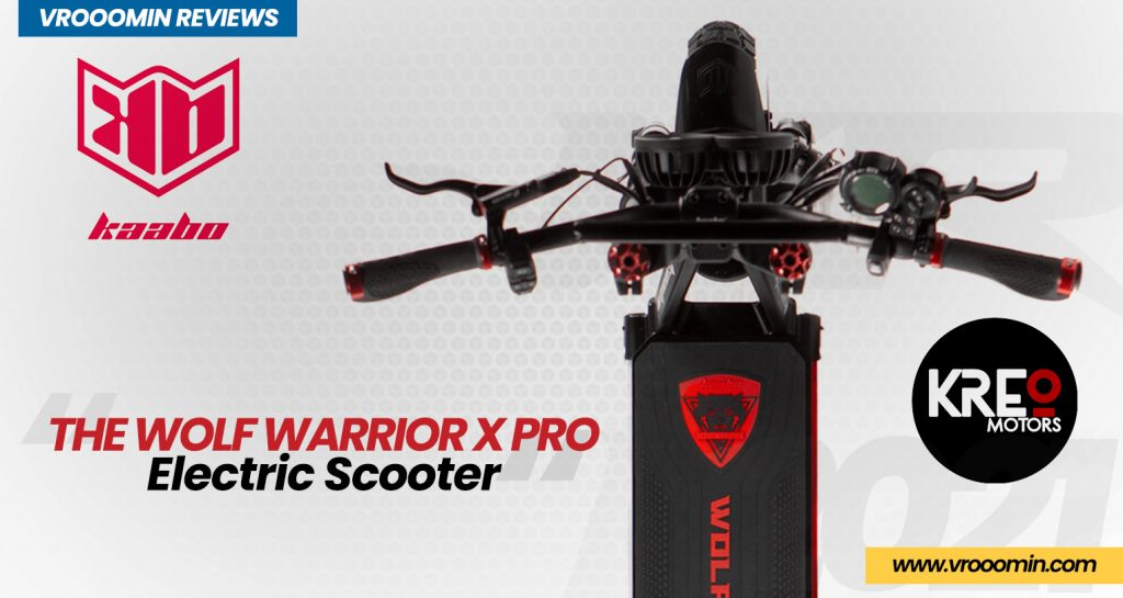 Kaabo Wolf Warrior X Pro Electric Scooter Deck