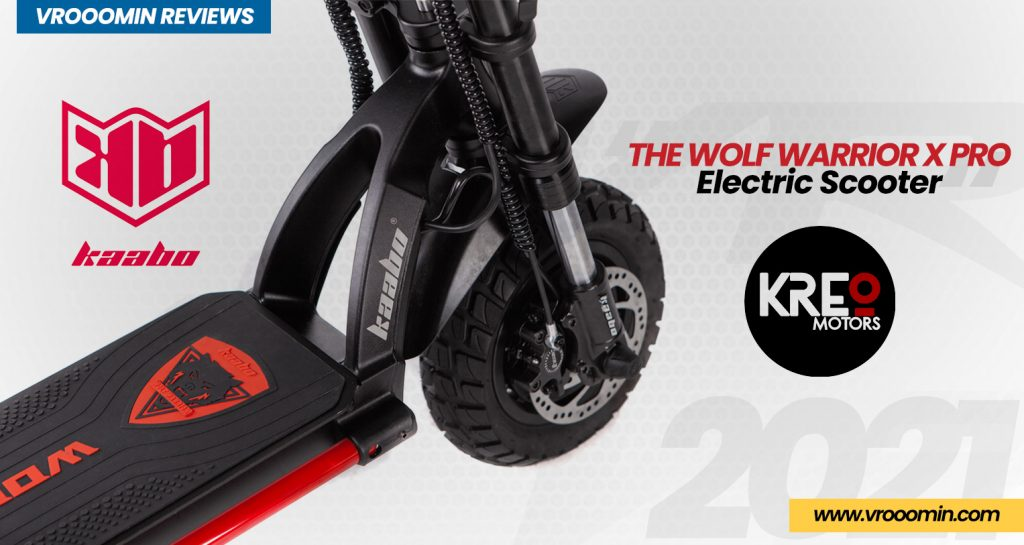 Kaabo Wolf Warrior X Pro Electric Scooter front motor