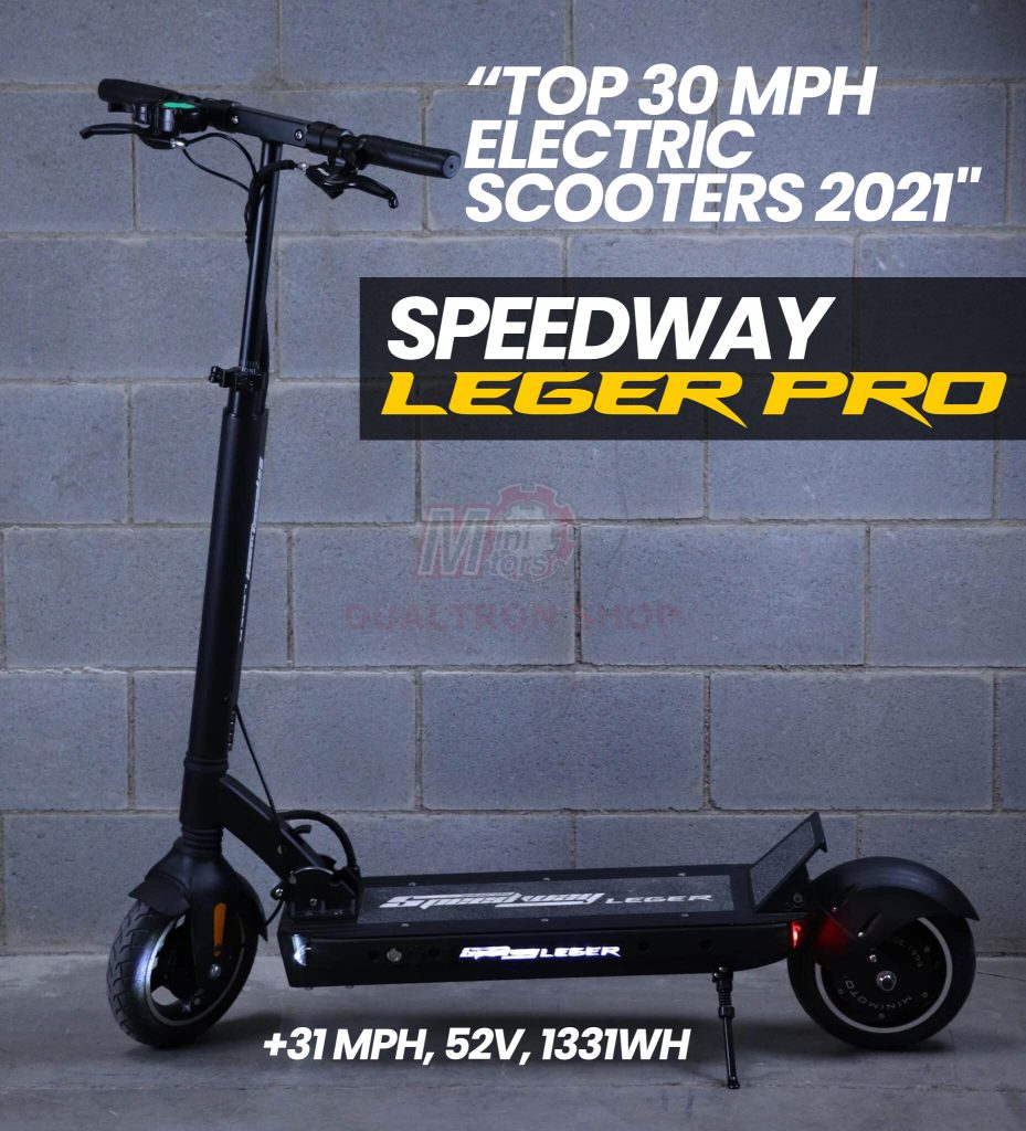 Speedway Legero Pro Electric Scooter Full view