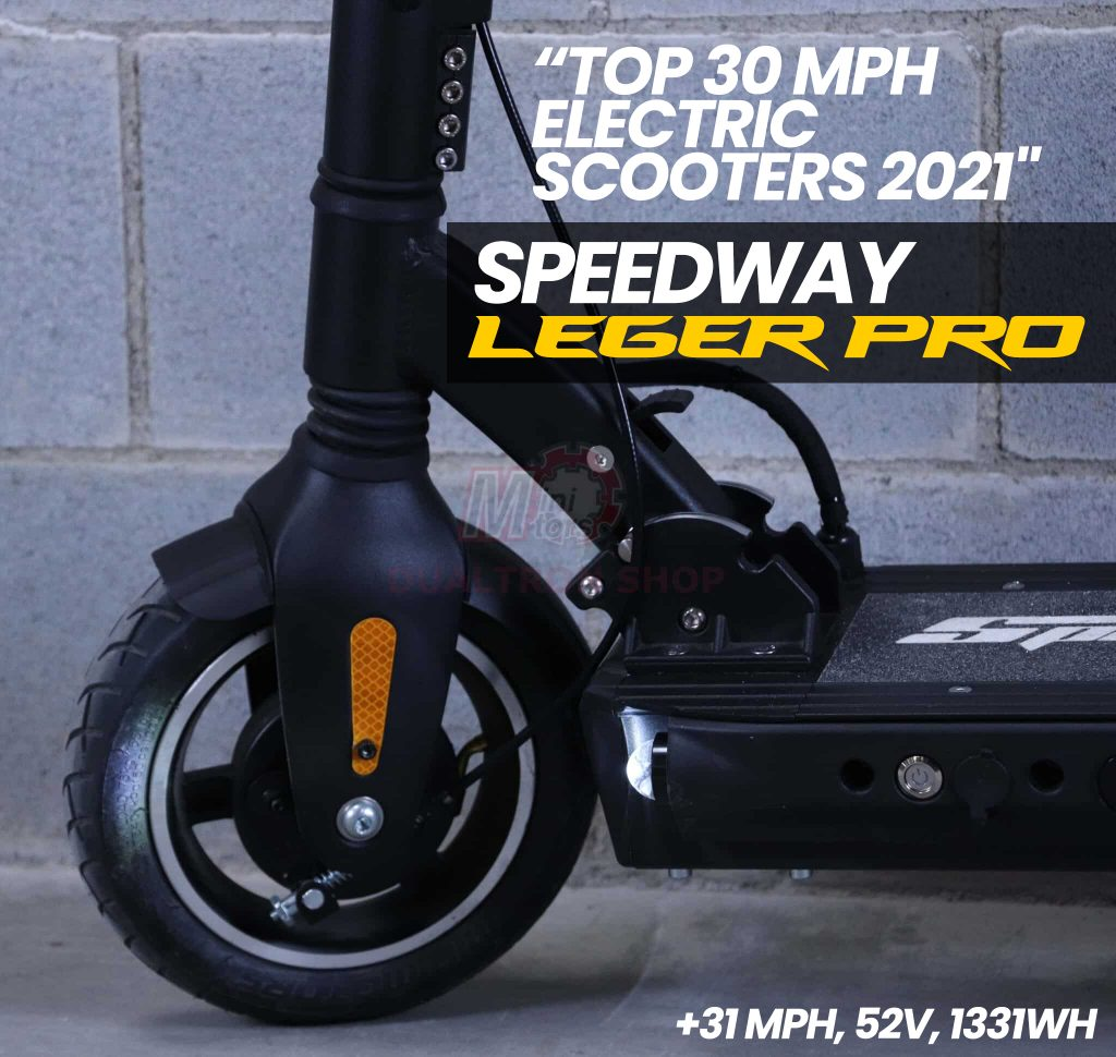 Speedway Legero Pro Electric Scooter Front Motor