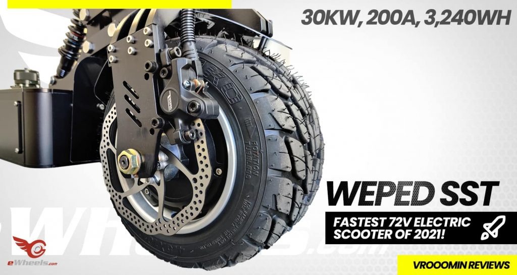 Weped SST Electric Scooter Wheel