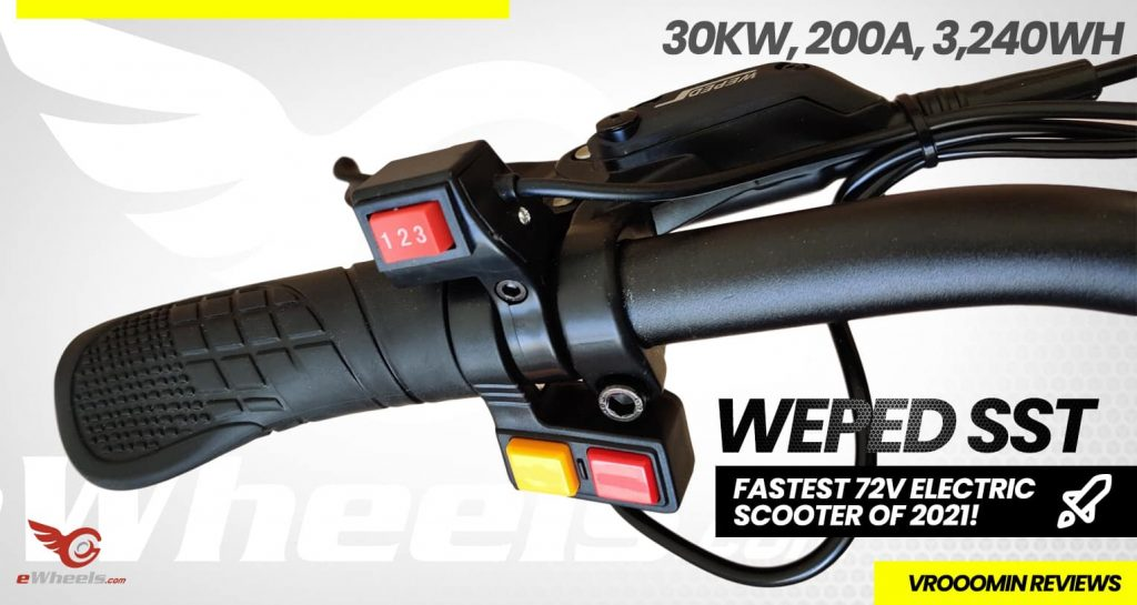 Weped SST Electric Scooter Handlebar