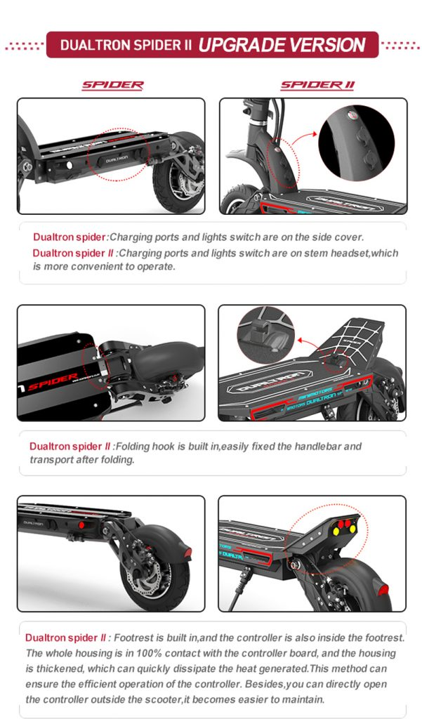 Dualtron Spider 2 electric scooter specs