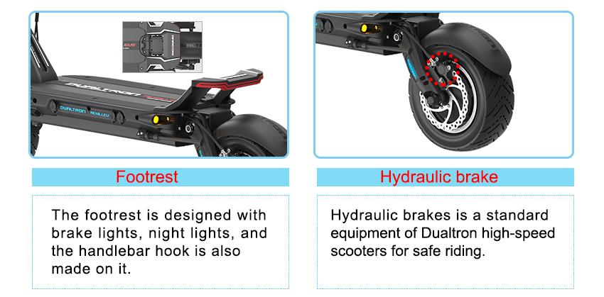 Dualtron Achilleus electric scooter specs