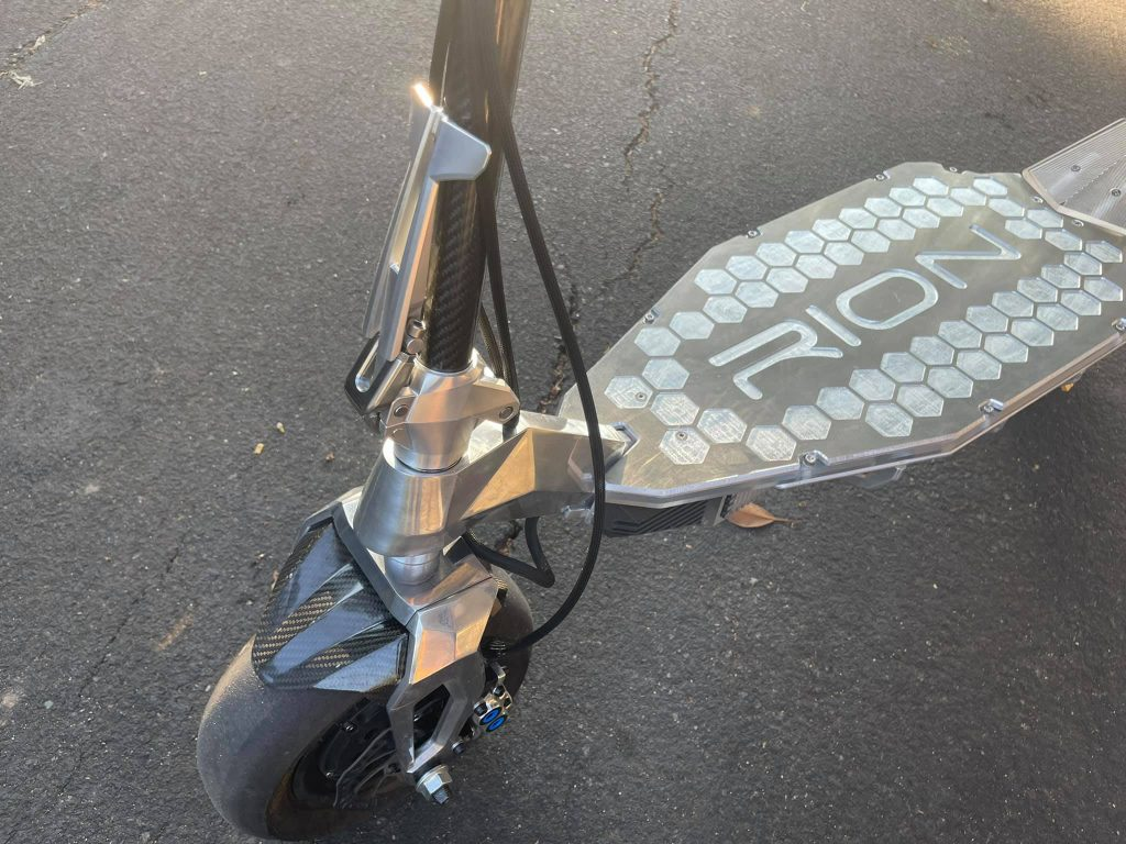 Rion Apex Electric Scooter Side