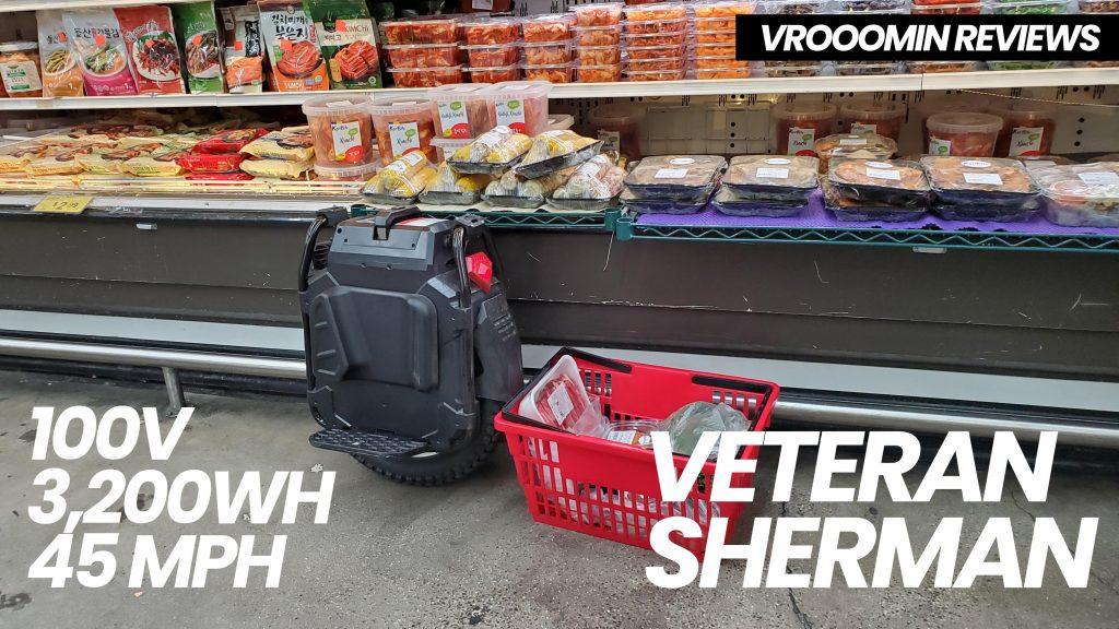 Veteran Sherman Electric Unicycle - Grocery Store