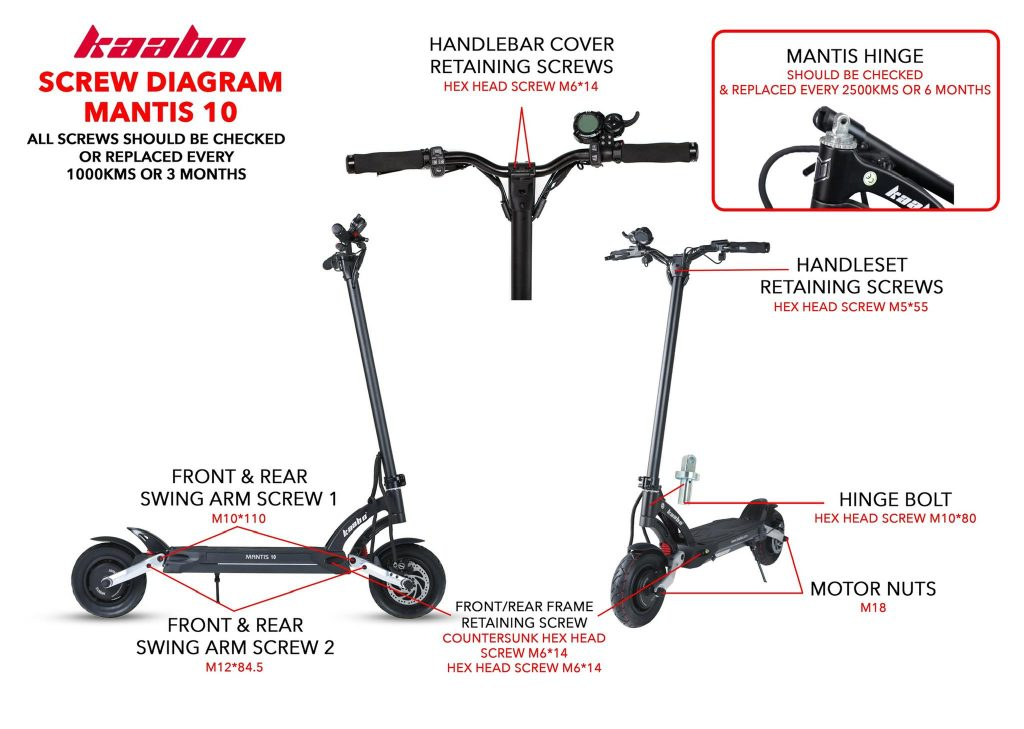 Kaabo Mantis 10 Electric Scooter