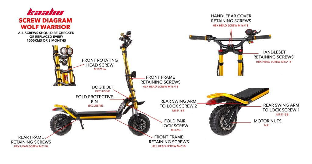 Kaabo Wolf Warrior King GT Electric Scooter