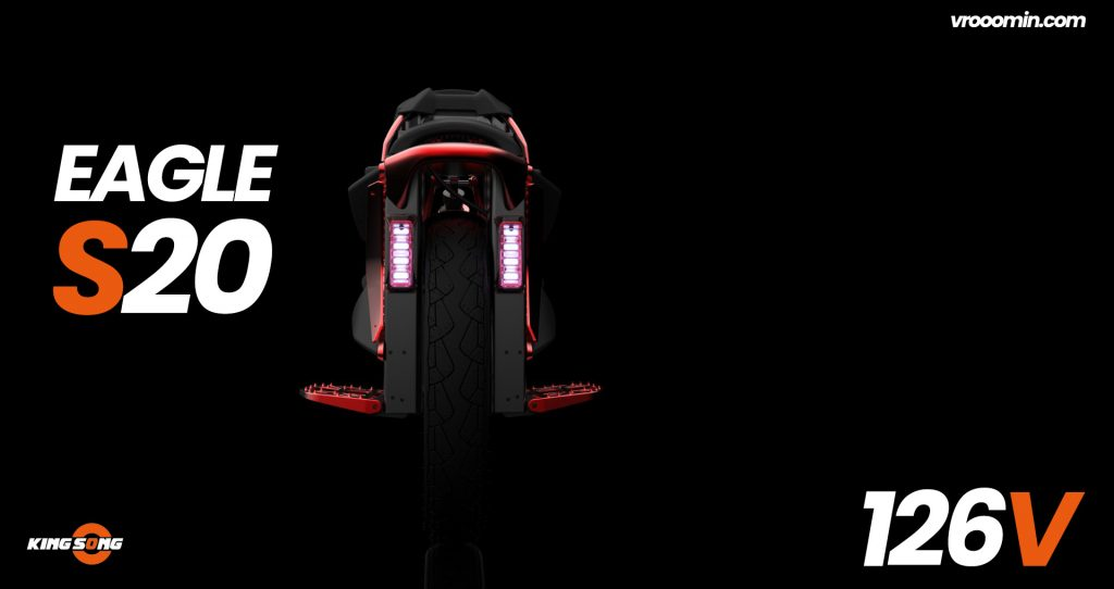 Kingsong S20 Eagle Electric Unicycle Lights