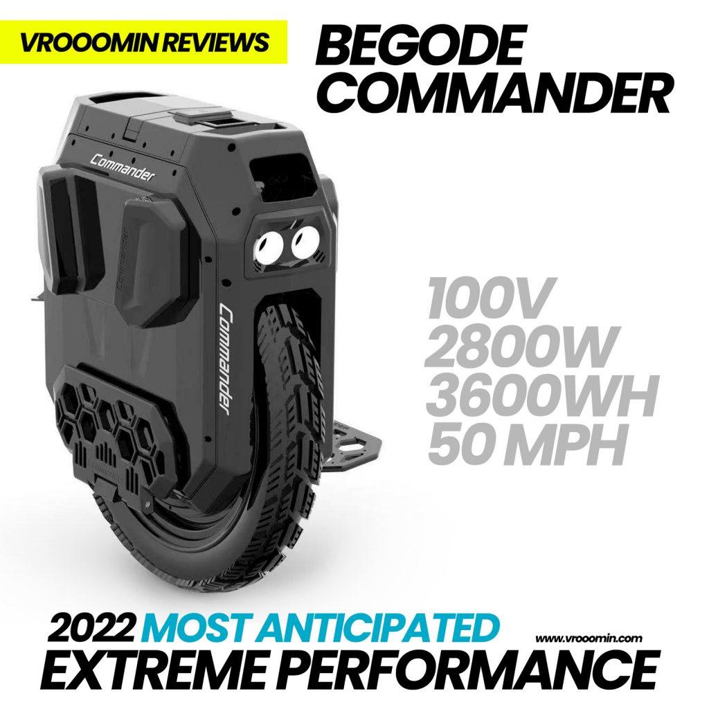 Begode Commander Electric Unicycle