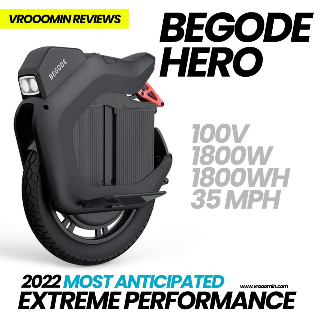 Begode Hero Electric Unicycle