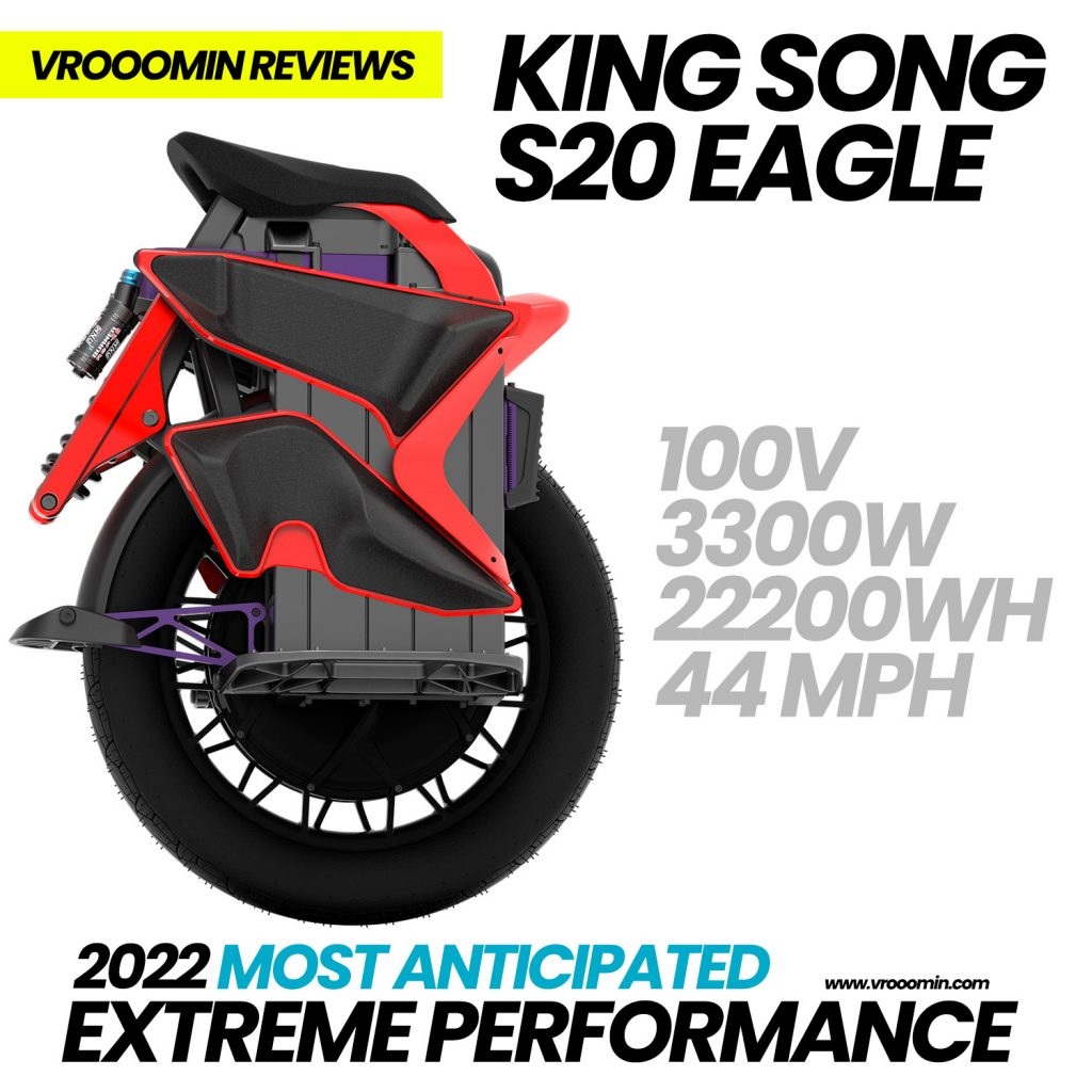 King Song S20 Eagle Electric Unicycle