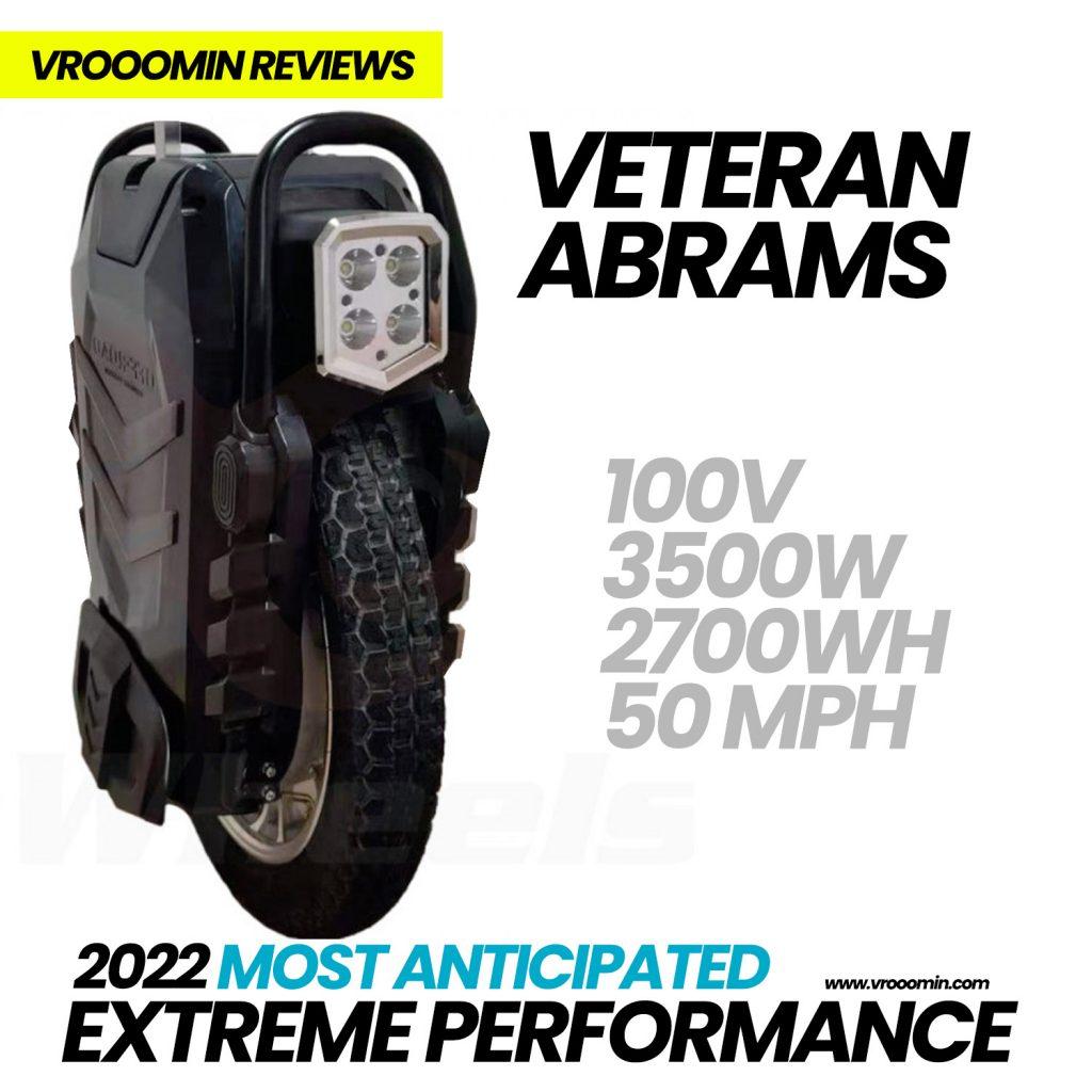 Veteran Abrams Electric Unicycle