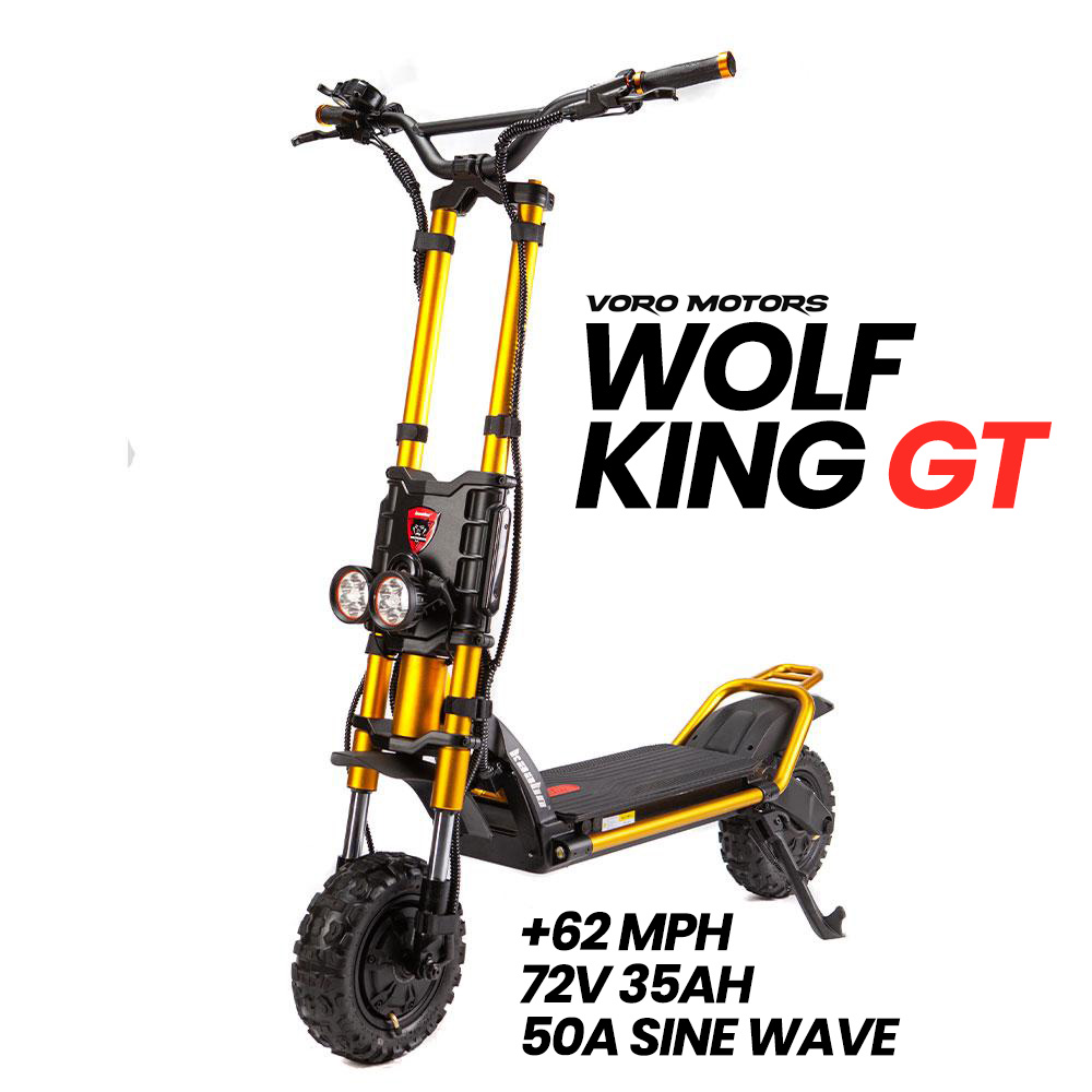 Wolf King GT Electric Scooter - Front