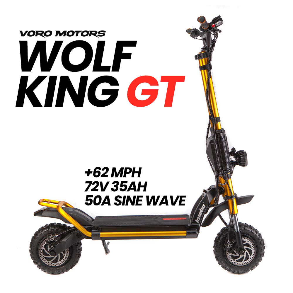 Wolf King GT Electric Scooter - Side