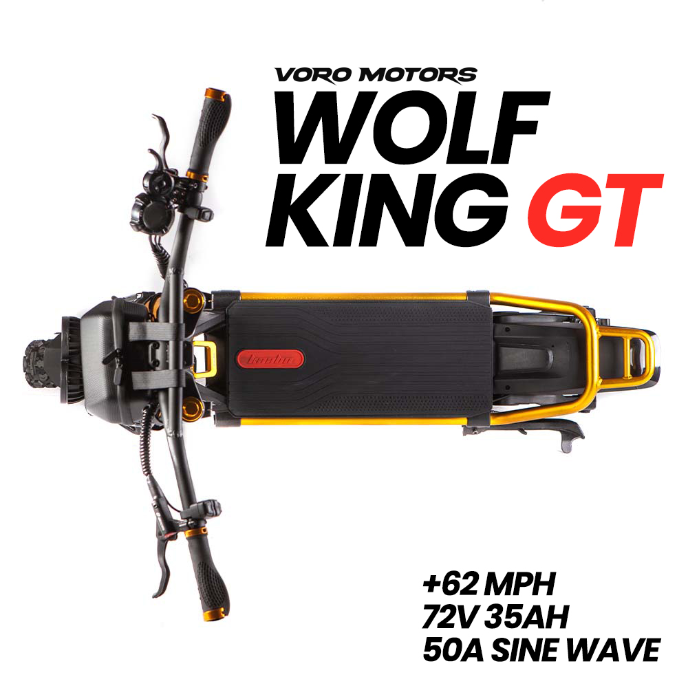 Wolf King GT Electric Scooter - Top